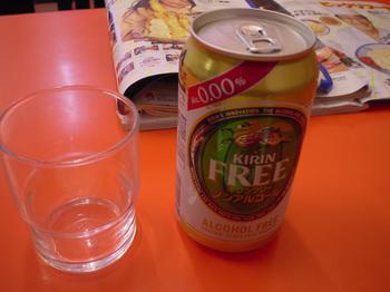 これが噂のノンアルコールビール