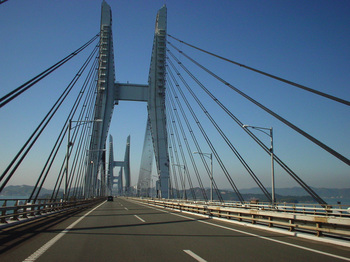 瀬戸大橋、後半