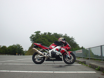 YZF-R1'00 in ごまさんタワー